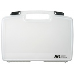 "Artbin® Quick View™ Standard Base 17"" Carrying Case; Color: Clear; Material: Polypropylene; Size: 17""; (model 8017AB), price per each"