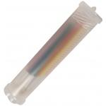 "Heritage Arts™ Plastic Telescoping Brush Tube 9"" to 17"": Clear, Plastic, 9"" - 17"", Brush Tube, (model RTB917), price per each"