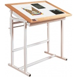 "Porta-Trace Light Table: 30"" x 42"" x 37""H, 24"" x 36"" Viewing Area, (4)20w Lamps,100 lbs."