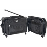 Tutto® Storage on Wheels Medium Tote Bag ; Color: Black/Gray; Size: Medium; (model 4220MA-M), price per each
