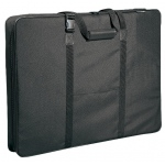 "Prestige™ Carry-All™ Soft-Sided Art Portfolio 24"" x 36"": Black/Gray, 3"", Nylon, 24"" x 36"", (model MN2436), price per each"