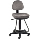 Alvin Viceroy Artist/Drafting Chair: Medium Gray, 30 lbs.