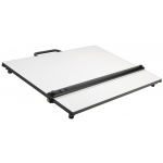"Alvin® PXB Series Portable Parallel Straightedge Board 20"" x 26""; Color: White/Ivory; Size: 20"" x 26""; Top Material: Melamine; Type: Drawing Board; (model PXB26), price per each"