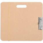 "Heritage Arts™ Artist Sketch Board 15"" x 16""; Color: Brown; Size: 15 1/2"" x 16 1/2""; Top Material: Masonite; Type: Drawing Board; (model SB1516), price per each"