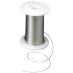 Alvin® Nylon-Covered Stainless Steel Wire; Replacement Part: Yes; Size: 100'; Type: Straightedge; (model NCSS-A), price per roll