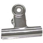 "Alvin® Bulldog Clip; Color: Metallic; Size: 3""; (model BCLIP), price per each"