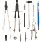 "Alvin® Jet-Bow Beam Combination Drawing Set: 28"", 6"", Compass/Divider, (model 929JS), price per set"