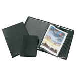 "Alvin® Art Presentation Book 8.5"" x 11"": Black/Gray, Polypropylene, 24 Pages, 8 1/2"" x 11"", (model APB0811), price per each"