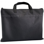 "Prestige™ Student™ Series Black Soft-Sided Portfolio 15"" x 18"": Black/Gray, 1/2"", Nylon, 15"" x 18"", (model N1518), price per each"
