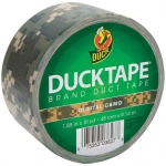 Duck Tape® Digital Camo Tape (Roll); Color: Multi; Format: Roll; Size: 10 yd; Type: Pattern; (model DT1388825), price per each