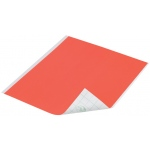 "Duck Tape® Neon Orange Tape (Sheet): Orange, Sheet, 8 1/4"" x 10"", Color, (model DT280085), price per sheet"