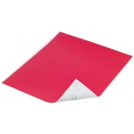 "Duck Tape® Red Tape (Sheet); Color: Red/Pink; Format: Sheet; Size: 8 1/4"" x 10""; Type: Color; (model DT280081), price per sheet"