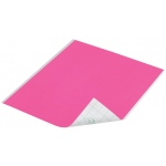 "Duck Tape® Neon Pink Tape (Sheet); Color: Red/Pink; Format: Sheet; Size: 8 1/4"" x 10""; Type: Color; (model DT280082), price per sheet"