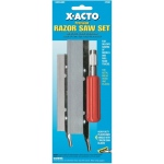 X-Acto® Precision Razor Saw Set; Refill: Yes; Type: Knife; (model X-75300), price per set