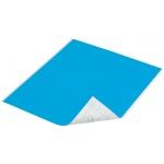 "Duck Tape® Aqua Tape (Sheet): Blue, Sheet, 8 1/4"" x 10"", Color, (model DT280086), price per sheet"