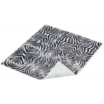 "Duck Tape® Zebra Stripes Tape (Sheet): Multi, Sheet, 8 1/4"" x 10"", Pattern, (model DT280092), price per sheet"