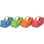 "Linex® Soft Touch Tape Dispenser Orange; Dispenser: Yes; Type: General; Width: 3/4""; (model TD100-OR), price per each"