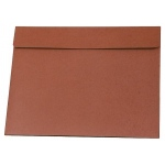 "Star® 17"" x 22"" Expanding Wallet; Color: Red/Pink; Material: Fiberboard; Size: 17"" x 22""; (model E22), price per each"