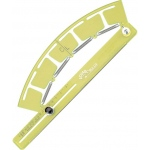 "Acu-Arc® Adjustable Ruler Inches; Color: Green; Material: Plastic; Size: 6 3/8"" to 200""; Type: Curve; (model A464), price per each"