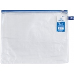 "Alvin® NB Original Series Mesh Bag 10"" x 13""; Color: Assorted, Clear; Material: Mesh, Vinyl; Size: 10"" x 13""; (model NB1013), price per each"