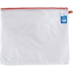 "Alvin® NB Original Series Mesh Bag 15"" x 18""; Color: Assorted, Clear; Material: Mesh, Vinyl; Size: 15"" x 18""; (model NB1518), price per each"