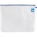 "Alvin® NB Original Series Mesh Bag 16"" x  21""; Color: Assorted, Clear; Material: Mesh, Vinyl; Size: 16"" x 21""; (model NB1621), price per each"