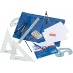 Alvin® Beginner's Mechanical Drafting Kit: Drawing and Geometry Set, (model BDK-1MD), price per each