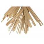 "Alvin® Bass Wood Strips 1/8 x 1/14: Strip, 50 Strips, 1/8"" x 1/4"", 24"", (model WS1814), price per 50 Strips"