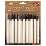 Heritage Arts™ Carving Tool 12-Piece Set: 12-Pack, (model WCS12), price per set