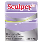 Sculpey® III Polymer Clay Spring Lilac: Purple, Bar, Polymer, 2 oz, (model S3021216), price per each