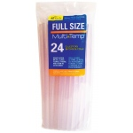 "Ad Tech™ MultiTemp 10"" Full Size Glue Sticks; Quantity: 24-Pack; Refill: Yes; (model AT220-11ZIP24), price per 24-Pack"