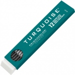 Prismacolor® Turquoise® 2mm Lead 9H; Degree: 9H; Lead Color: Black/Gray; Lead Size: 2mm; Quantity: 12-Pack; Type: Lead; (model E2375-9H), price per 12-Pack