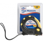Alvin® 25' Tape Measure; Color: Yellow; Size: 25'; Type: Tape Measure; (model ATM25), price per each