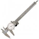 "General® 6"" Dial Caliper: Metallic, Steel, 6"", Caliper, (model G107), price per each"