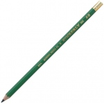 Kimberly® Drawing Pencil 6B; Color: Black/Gray; Degree: 6B; Type: Drawing; (model 525G-6B), price per dozen (12-pack)
