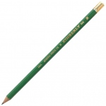 Kimberly® Drawing Pencil B; Color: Black/Gray; Degree: B; Type: Drawing; (model 525G-B), price per dozen (12-pack)