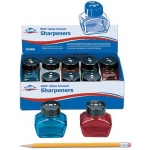 Alvin Dux Glass Inkwell Sharpener Display Assortment