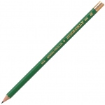 Kimberly® Drawing Pencil H; Color: Black/Gray; Degree: H; Type: Drawing; (model 525G-H), price per dozen (12-pack)