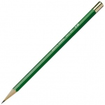 Kimberly® Drawing Pencil 4H: Black/Gray, 4H, Drawing, (model 525G-4H), price per dozen (12-pack)