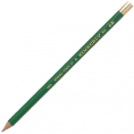 Kimberly® Drawing Pencil 6H; Color: Black/Gray; Degree: 6H; Type: Drawing; (model 525G-6H), price per dozen (12-pack)
