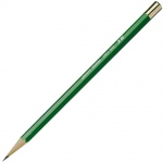 Kimberly® Drawing Pencil 9H; Color: Black/Gray; Degree: 9H; Type: Drawing; (model 525G-9H), price per dozen (12-pack)