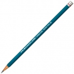 Prismacolor® 375 Series Turquoise® Drawing Pencil 7B; Color: Black/Gray; Degree: 7B; Type: Drawing; (model E375-7B), price per dozen (12-pack)