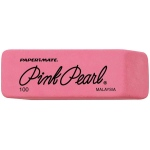 Pink Pearl® Medium Erasers; Material: Rubber; Quantity: 24-Box; Type: Manual; (model 100FC), price per 24-Box box