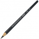 Prismacolor® Ebony Sketching Pencils; Color: Black/Gray; Type: Drawing; (model FC6325), price per dozen (12-pack)