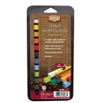 Heritage Arts™ Artist Grade Soft Essential 12-Color Pastel Set; Color: Multi; Format: Stick; Type: Soft; (model ASP12), price per set