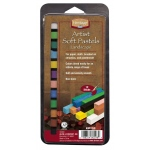 Heritage Arts™ Artist Soft Landscape 12-Color Pastel Set; Color: Multi; Format: Stick; Type: Soft; (model ASP12LS), price per set