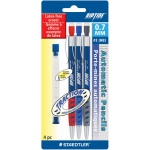 Staedtler® Riptide® Automatic Pencil .7mm: Black/Gray, .7mm, 3-Pack, Mechanical, (model 9840-7), price per 3-Pack