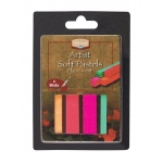 Heritage Arts™ Fluorescent Artist Soft Pastel Set; Color: Multi; Format: Stick; Type: Soft; (model ASP4FL), price per set