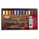 Heritage Arts™ Artist Drawing Pastels Essential 12-Color Set; Color: Multi; Format: Stick; Type: Drawing; (model ADP12BP), price per set