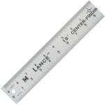 "Lance® 24"" Aluminum Center Finding Rule; Color: Metallic; Material: Aluminum; Size: 24""; Type: General Purpose; (model CF024), price per each"
